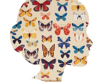 BUTTERFLIES Lucy and Mabs Reusable pad or pantyliner / Made to Order