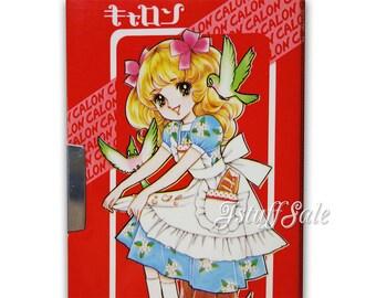 Rare! 70's vintage wide pencil case - Japanese manga