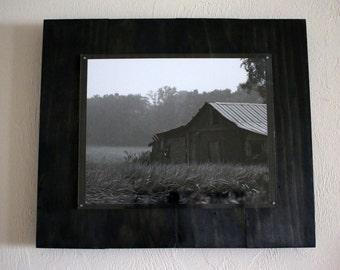Black & White Old Barn Photograph - Wall Art - Fine Art - Home Decor