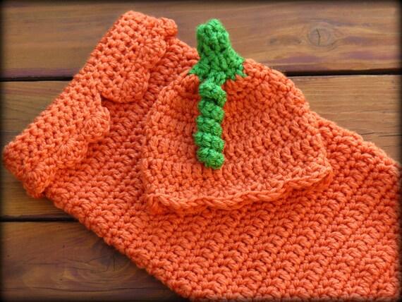 Crochet Cocoon Pumpkin Pattern - CROCHET PATTERN - #Crochet Baby ...