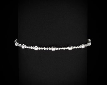 Metal Beat Bracelet | silverplated
