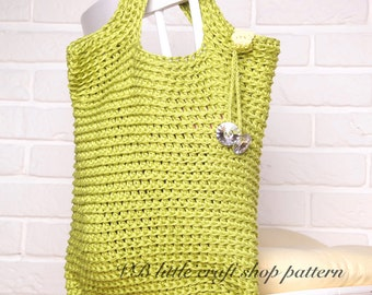 Every day bag crochet pattern. Amazing! Easy! Practical! Instant PDF download!