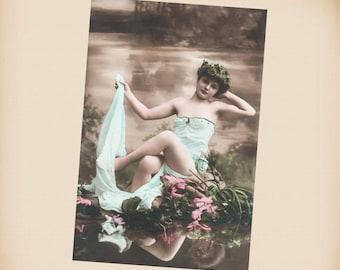 Bathing Beauty New 4x6 Vintage Postcard Image Photo Print BB31