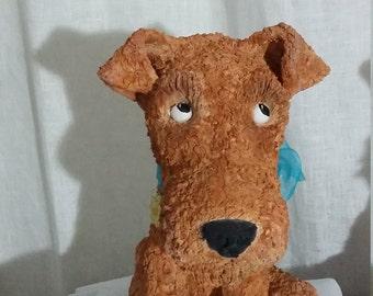 Welsh Terrier Sculpture