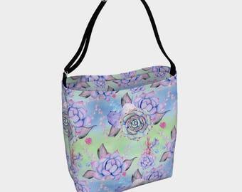 SALE - Succulent Tote Bag