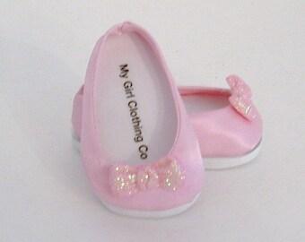 Pink Satin Dressy Shoes