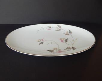 """Noritake Arden Large Oval Serving Platter 14.5"""""""