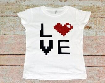 8 Bit Love T-Shirt
