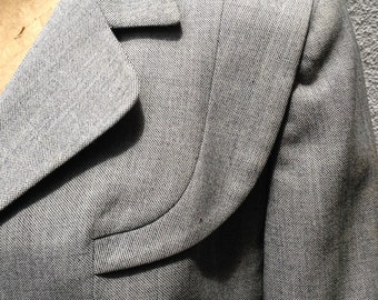 Vintage 1940-1950 tailored fitted womens suit
