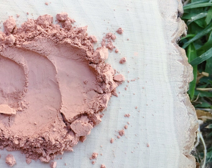 SAMPLE • Matte Blush • Sunset • Loose Powder • Matte Peachy Rosey Tint • Earth Mineral Cosmetics