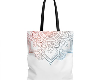 Mandala, tote Bag, yoga gift, yoga tote