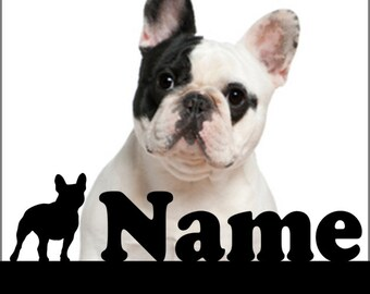 French Bulldog Personalized statuette,  French Bulldog  Personalized souvenir, A perfect gift for dog lovers, French Bulldog Gift
