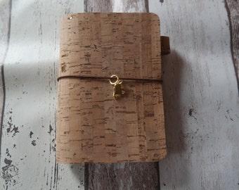 Midori/Fauxdori Travelers notebook Cork a6