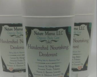 Handcrafted Organic Deodorant (free pit mask included)
