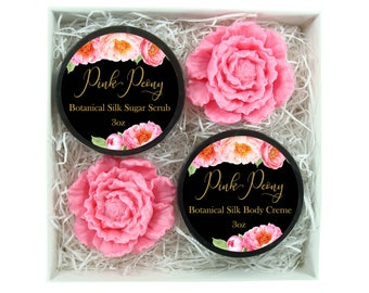 Gift For Women -  - Gift Set - Peony Bath & Body Luxury