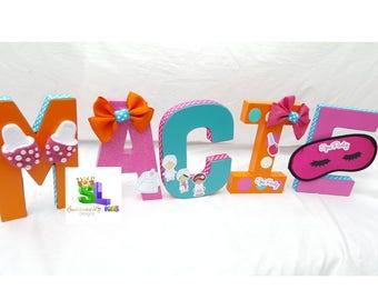 Spa birthday Party, Spa Birthday party decorations, Spa party decorations, Spa party letters Spa party name