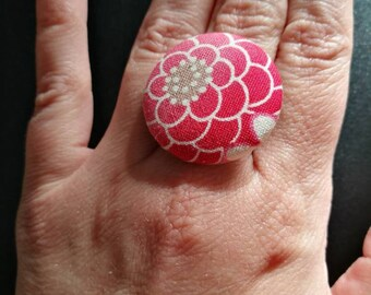 Large rings with filigree base
