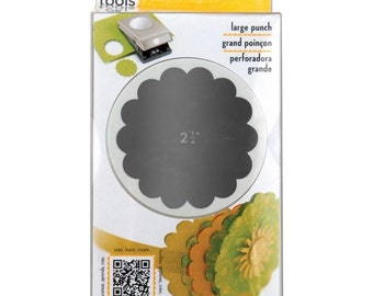 "2-1/4"" Scallop Circle EK Success Paper Nesting Slim Punch"