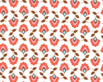 Elena in Chocolate Michael Miller Fabric 1 yard Modern Fabric Fiesta Collection