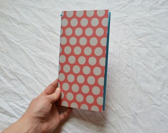 Handmade Travellers Notebook Insert: blue pages