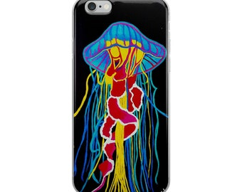 iPhone Case Jelly Fish, Art Cell Phone case