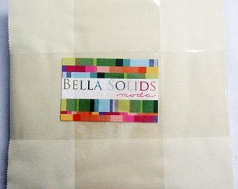 Moda Bella Solids Layer Cake Snow
