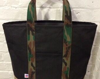 70% OFF Market tote bag - Black