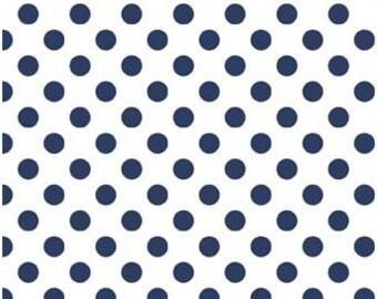 Navy Small Dots - Riley Blake Designs - C480-21