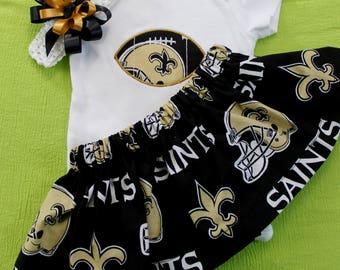 New Orleans Saints Toddler 3pc Set