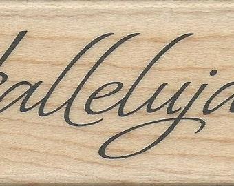 Christmas Sentiment Stamp -- NEW -- Wood Mounted Rubber Stamp --  Inkadinkado --  (#720)