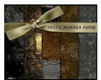 Digital Papers - INKED - 12x12 Expertly Designed Photography & Scrapbook Backdrops.