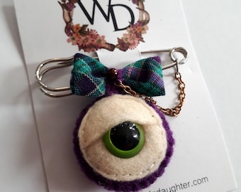 The Enemy Wearable Art Time Keeper Kilt Pin by Winnifreds Daughter