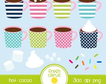 Hot Cocoa Mug Clip Art