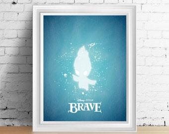 Disney Brave Wisp downloadable digital art print