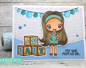 For the Mom to be, Baby Card