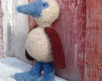 PATTERN PDF Crocheted and Felted Booby Bird Amigurumi Pattern