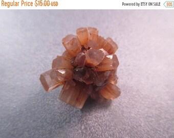 ON SALE 20% OFF Morocco Orange Aragonite Crystal Cluster Mineral Specimen 1pc