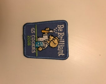 Be Brilliant Science Lab Patch