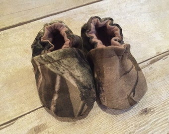 Camo Crib Shoes Camouflage Baby Hunter Slipper Shoe