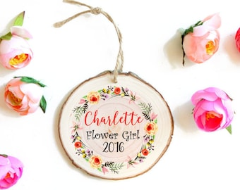 Personalized Bridesmaids' Gift- Personalized Ornament for Wedding Party - Wedding Party Gift - Bridesmaids' Gifts Wedding Party