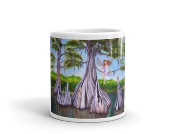 Cyprus Fairies Original Art Coffee Mug