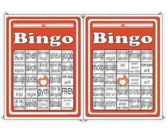 Bingo Rencontre des gars cartes 3 et 4 à télécharger