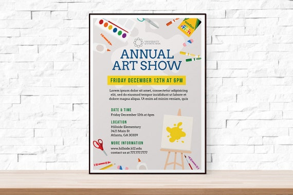 Diy printable school art show flyer template word flyer diy printable school art show flyer template word flyer templates event flyer template art festival school template arts and crafts stopboris Images