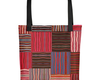 Basket Weave Pattern Tote