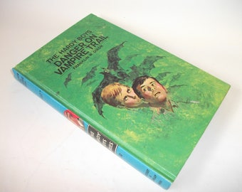 Hardy Boys Hollow Book Safe Danger on Vampire Trail Hollowed out Book Secret Stash Compartment Keepsake box