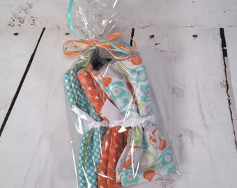 Mini Burp Cloth Gift Set