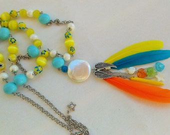 TROPICAL ANGEL NECKLACE