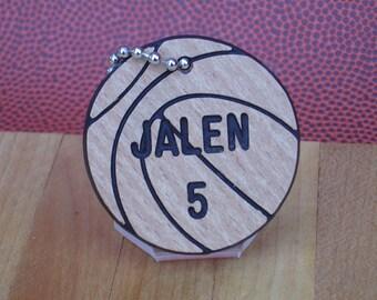 Basketball Gift /  Girls Basketball Gift / Personalized Basketball Gifts / Basketball Bag Tags / Girls Basketball Team Gifts