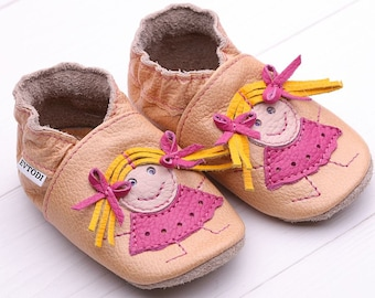Baby shoes Leather baby shoes, Soft sole kids shoes, Boys', Baby moccasins leather, Girls', Infant baby shoes, Baby booties, Doll, Evtodi