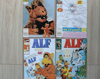 Alf 1988 and 1990 Issues-> Marvel Comics